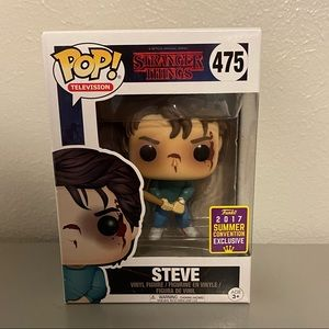Funko POP: Strangers Things - Steve Exclusive